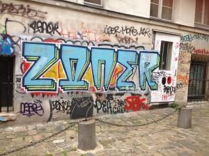 Straßen Kunst in Paris